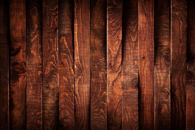 Dark wood planks background Premium Photo