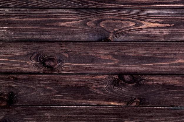Dark wooden background Premium Photo