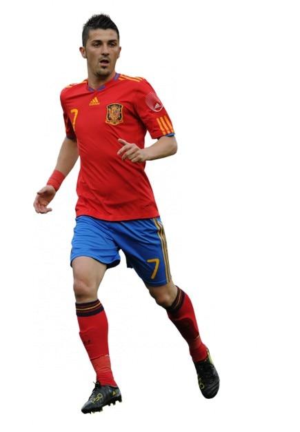 David Villa , Spain National team Free Photo