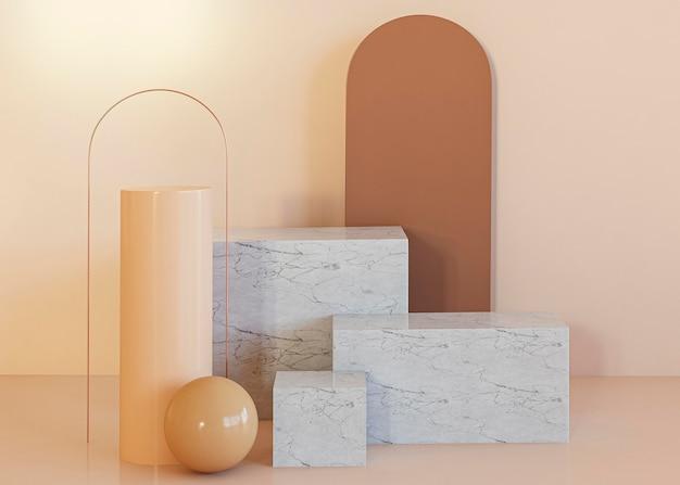装飾の幾何学的形状の背景 無料写真