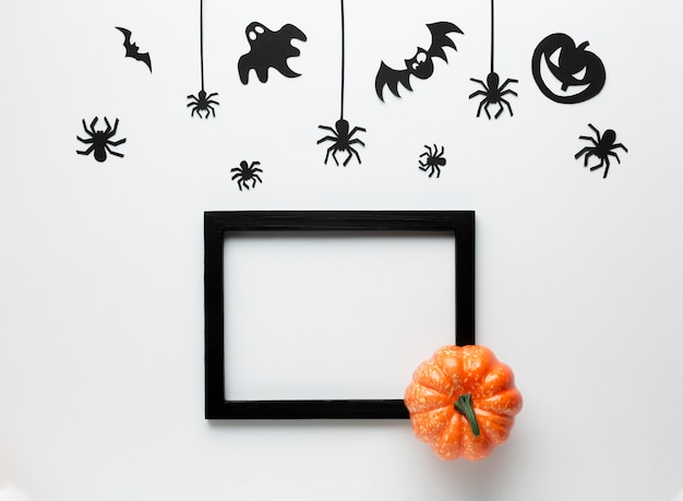 Decoration halloween party elements Free Photo