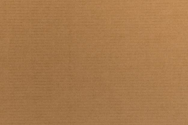 Decorative background of brown cardboard Free Photo