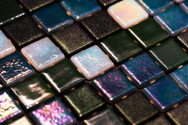 Decorative colorful mosaic textured background Free Photo