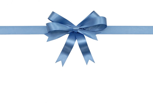 Decorative gift ribbon and bow Free Photo