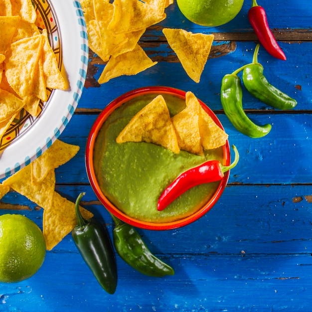 Decorative mexican food Free Photo