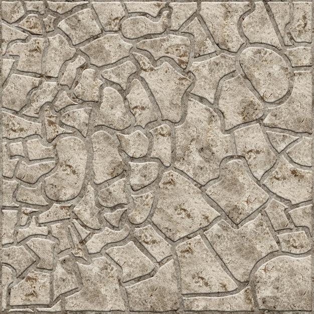 Декоративная рельефная плитка с текстурой натурального камня. фоновая текстура. Premium Фотографии
