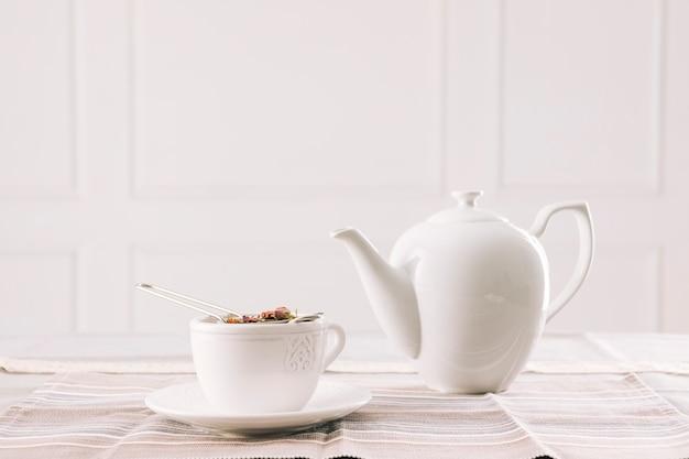 Decorative tea still life Free Photo