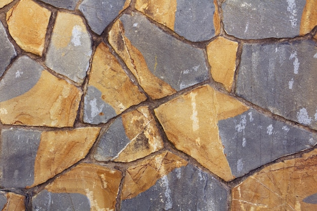 Decorative texture with colored stones Free Photo