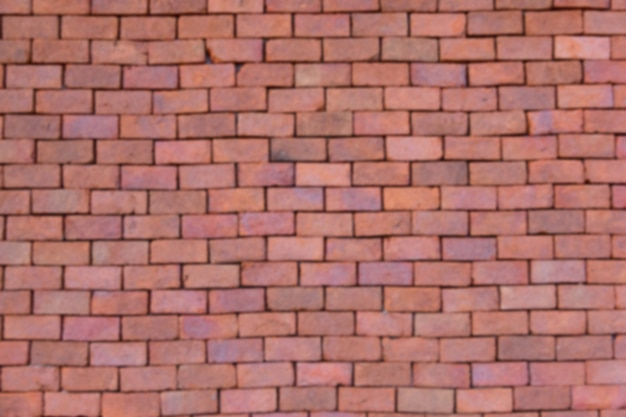 Defocus old brick wall Premium Photo