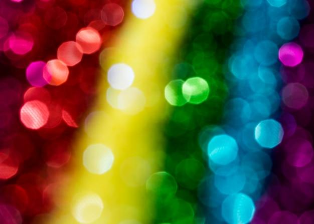 Sfocato scintillante arcobaleno scintillante Foto Gratuite
