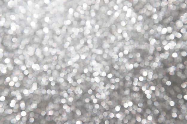 Defocused抽象的な銀の背景 無料写真