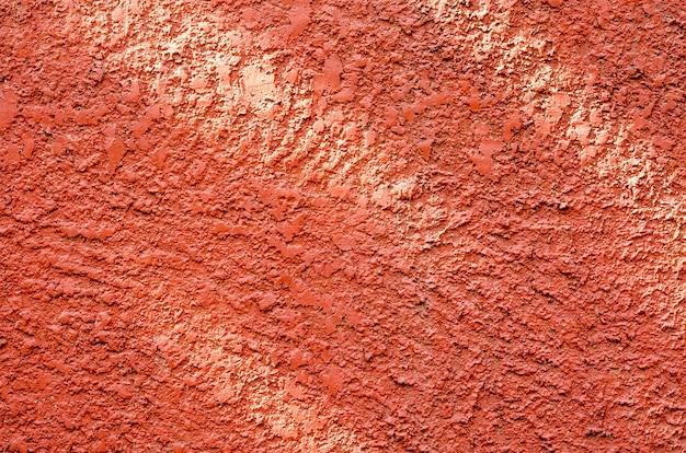 抽象的なdefocused赤い壁のぼかし背景 Premium写真