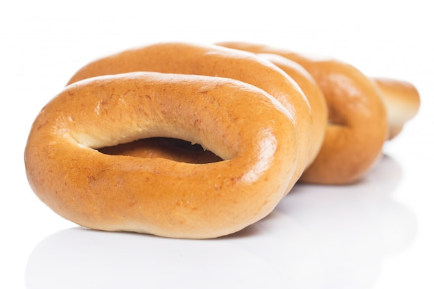 Delicious bagels made from good wheat Free Photo