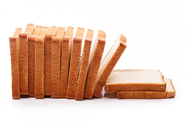 Delicious bread on the table Free Photo