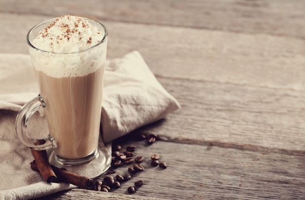 Delicious cappuccino coffee Free Photo