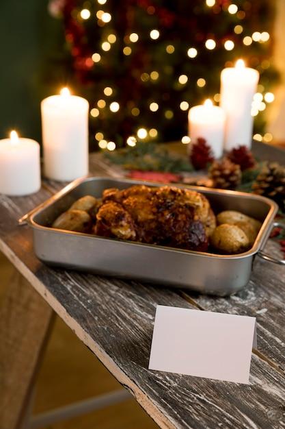Вкусная рождественская еда asoortment Бесплатные Фотографии