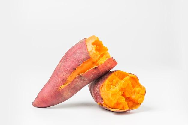 Delicious cooked sweet potato Free Photo