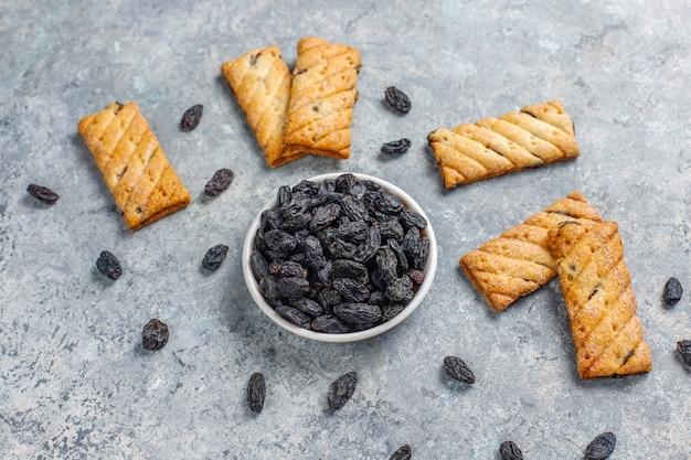 Вкусное печенье с изюмом Бесплатные Фотографии