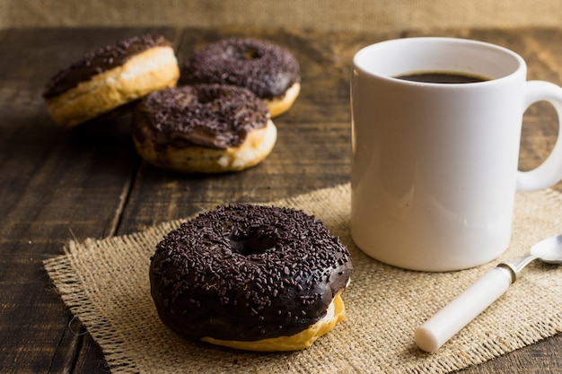Delicious donuts Free Photo