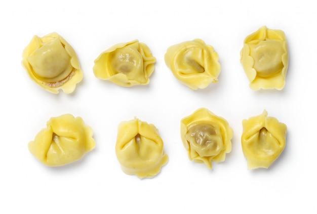 Gnocchi deliziosi su bianco Foto Gratuite