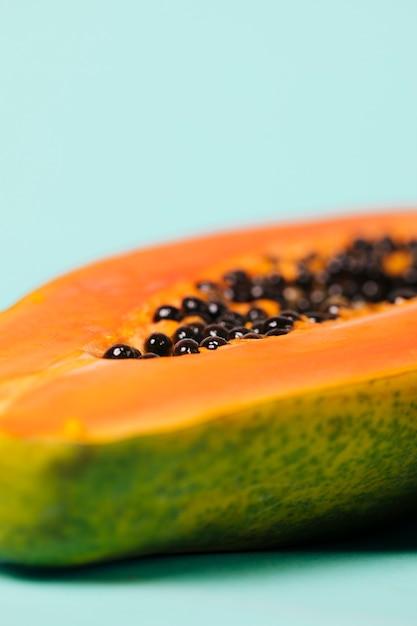 Delicious half of papaya fruit Photo | Free Download
