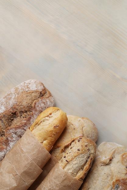 おいしい自家製パン 無料写真
