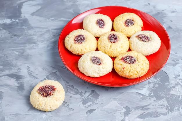 Вкусное домашнее малиновое печенье. Бесплатные Фотографии