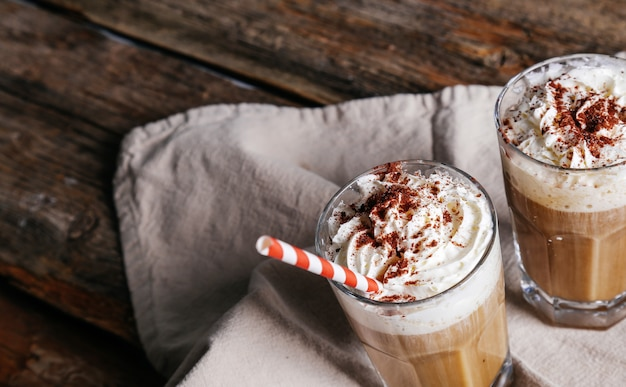 Delicious latte Free Photo