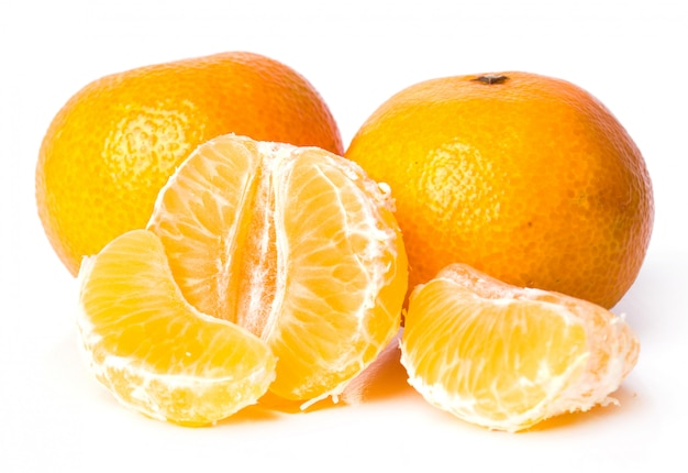 Delicious mandarin Free Photo