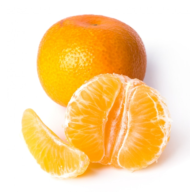 Delicious mandarin Free Photo
