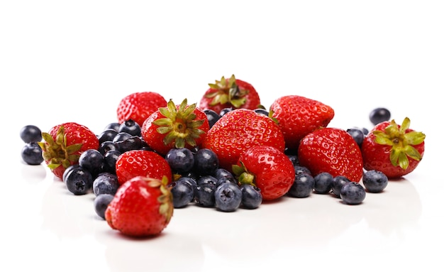 Delicious and natural berries Free Photo