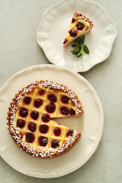 Delicious pie Free Photo