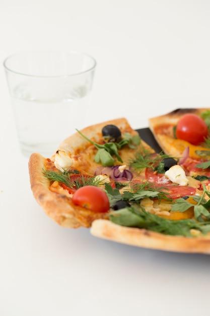 Delicious pizza Free Photo