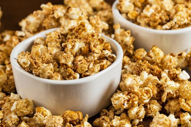 Delicious popcorn Free Photo