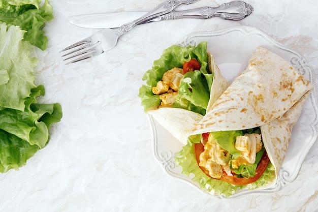 Delicious tortilla Free Photo