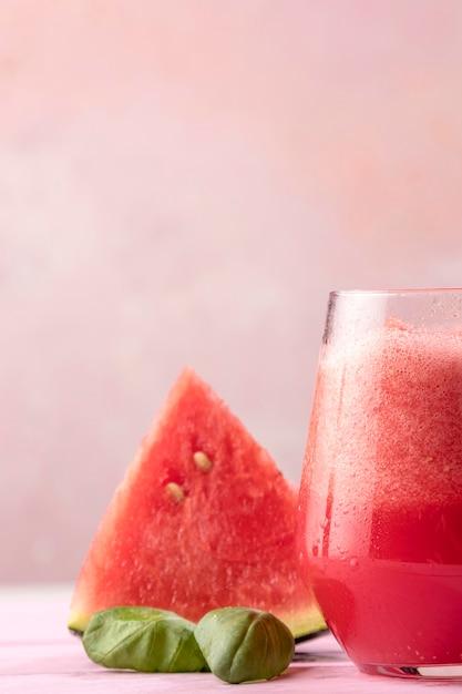 Deliziosa bevanda all'anguria Foto Gratuite