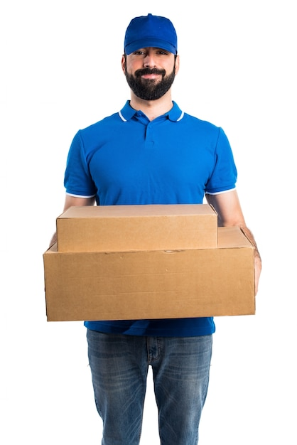 delivery man photo free download