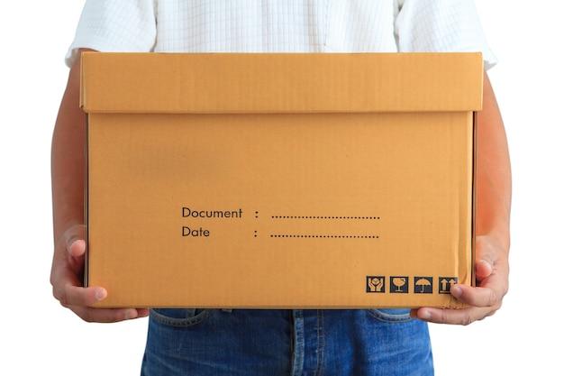 Delivery man Premium Photo