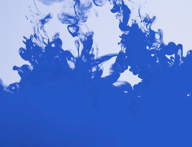 Dense bright  blue cloud of haze Free Photo