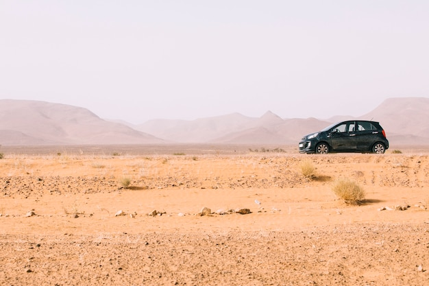 Desert landscape in morocco Free Photo