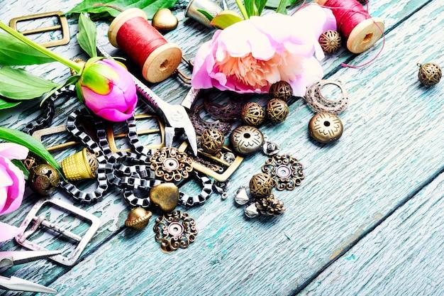 Design and bijouterie Premium Photo