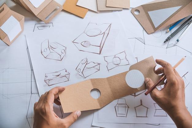 Premium Photo | Designer design product packaging prototype