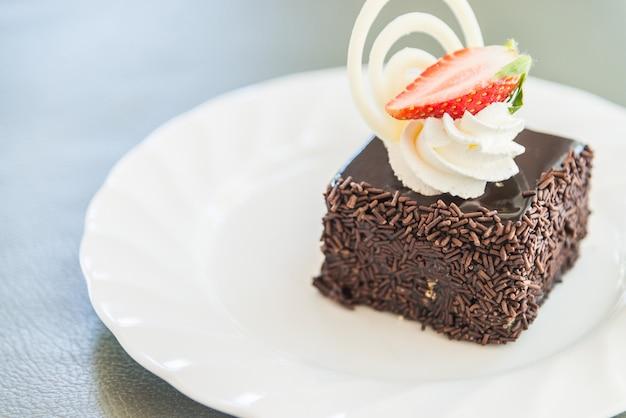 Chocolate Cake Images Dessert : Dessert chocolate cake Photo Free Download