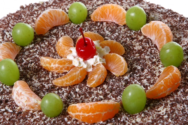 Dessert fruitcake Free Photo