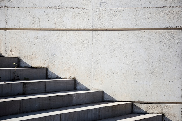 Detail of urban stairs Free Photo
