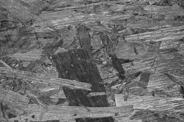 Подробный черно-белый деревянный фон Бесплатные Фотографии