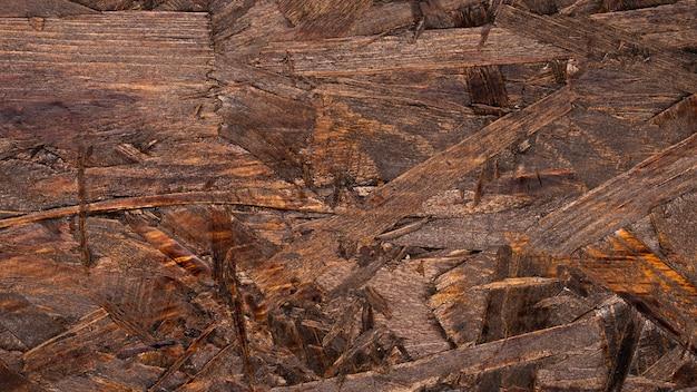 詳細な茶色の木製の背景 無料写真