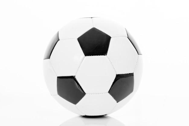 詳細なサッカーボール、サッカーアイコン、分離 無料写真