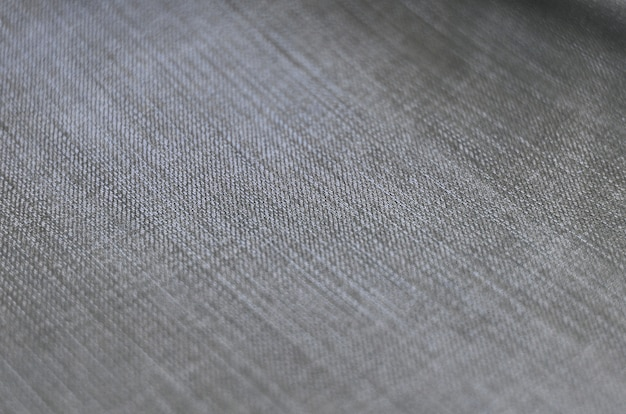 Detailed texture of dark denim cloth Premium Photo