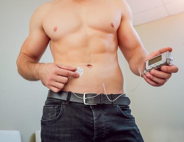 Glucology Insulin Pump Belt Nude Large Diabetes